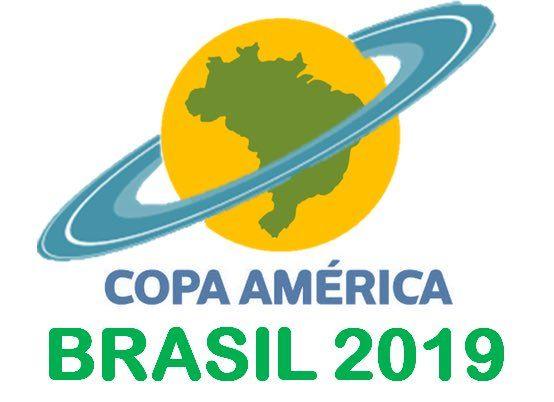 40a438bad6d23a Logotipo Copa America Brasil 2019   Logos Copa America   Copa ...
