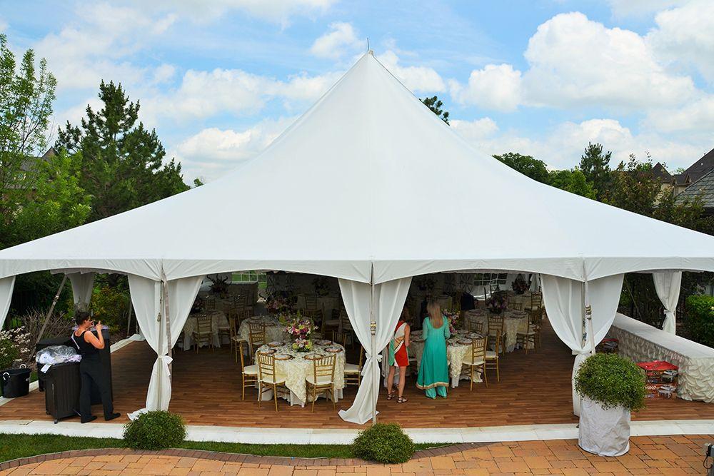 Wedding Photos | Fairy Tale Tents & Events - 40\'x40\' High-Peak Fairy ...