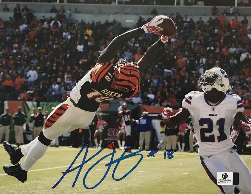 0264fcebb A. J. Green Cincinnati Bengals Signed 8x10 Photo – Miller Memorabilia