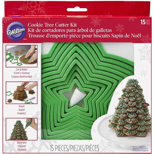 Gingerbread Cookie Tree Cutter Set Tree cutter, Gingerbread and