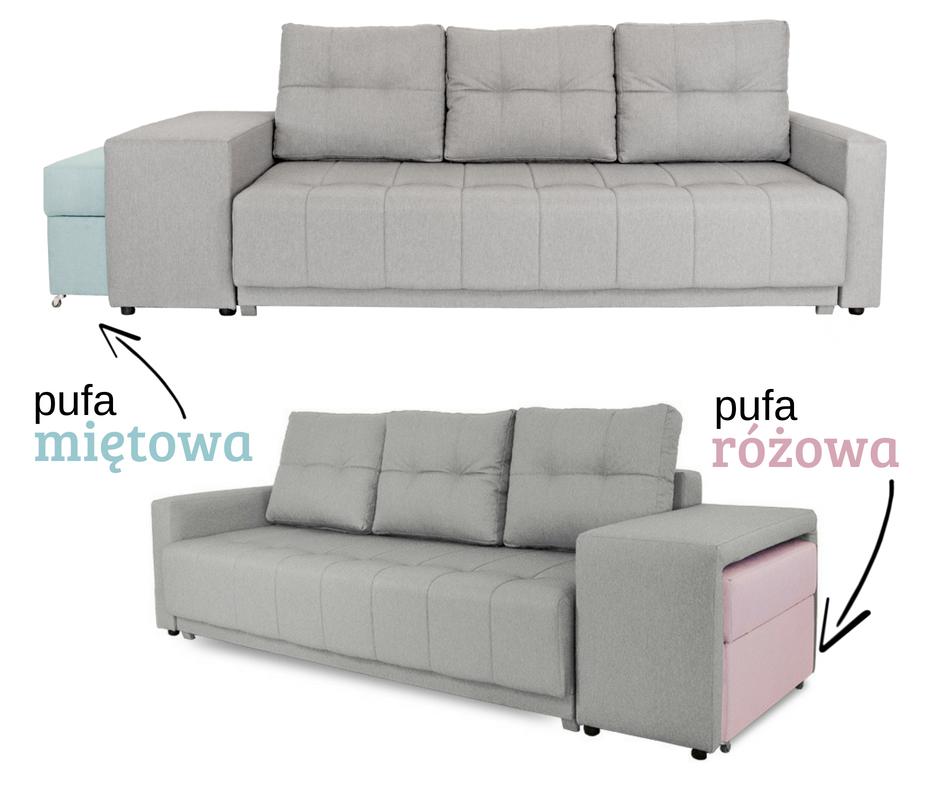 Nowoczesna Kanapa Rozkladana Z Pufa Mht 337 Furniture Home Decor Decor