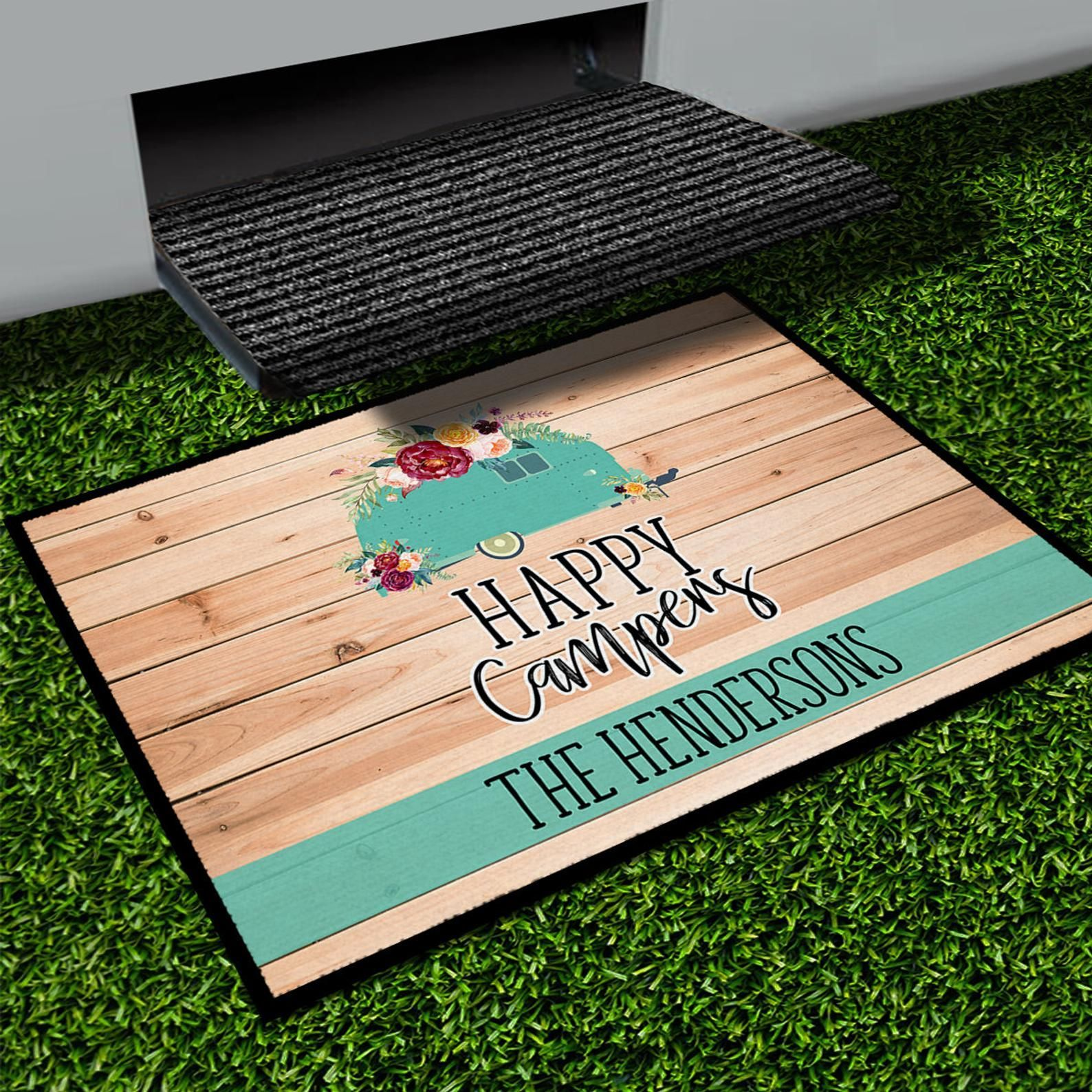 Personalized Camping Mat Custom Camp Site Door Mat ...
