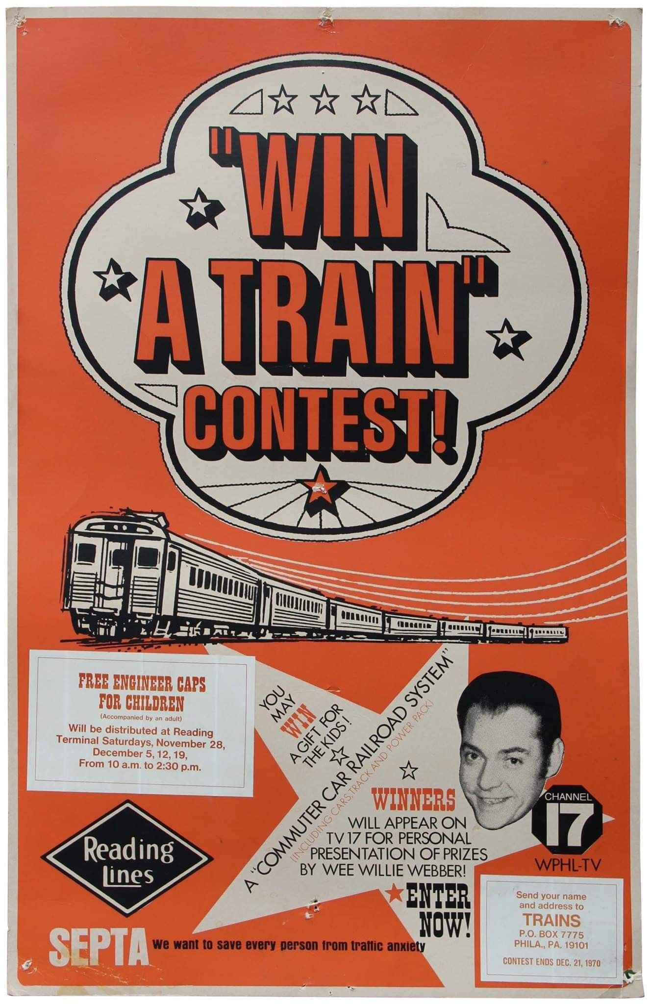 Win a train???? Classic television, First world problems