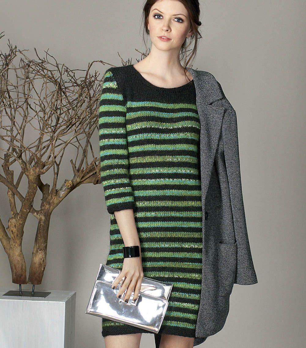 Вязания на руках платья