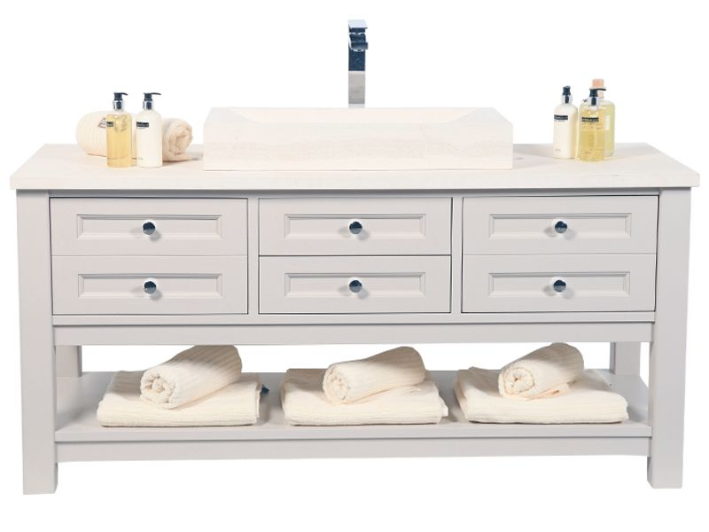 Henbury Vanity Unit With Lestone Top 0