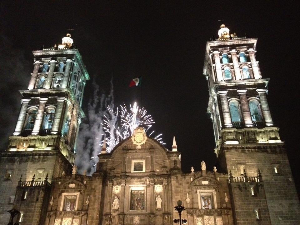 Catedral de Puebla.