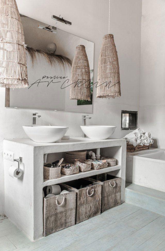 Ba os r sticos 87 aseos vintage impresionantes ba os for Casa paulina muebles y decoracion