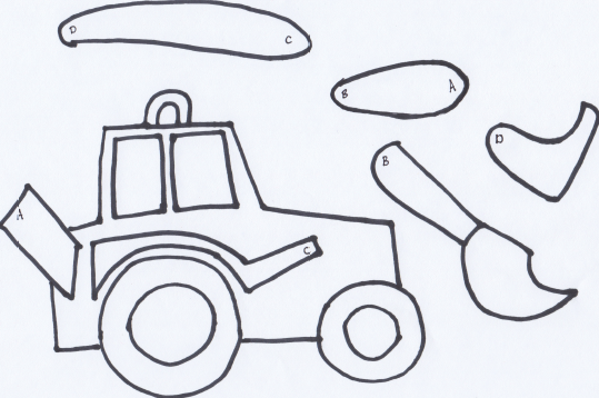Make A Movable Tractor {free Printable