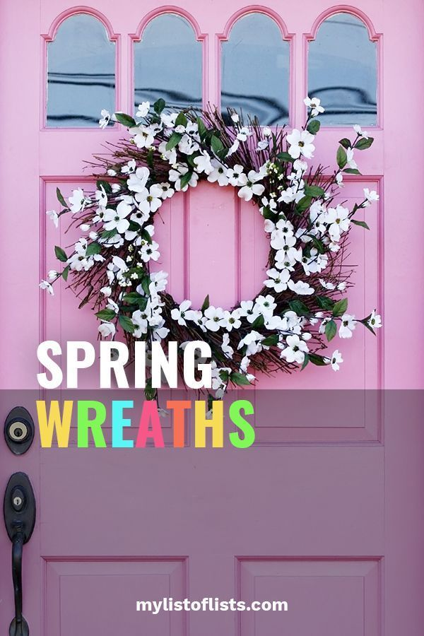 Photo of 3 Budding Ideas For Spring Wreaths