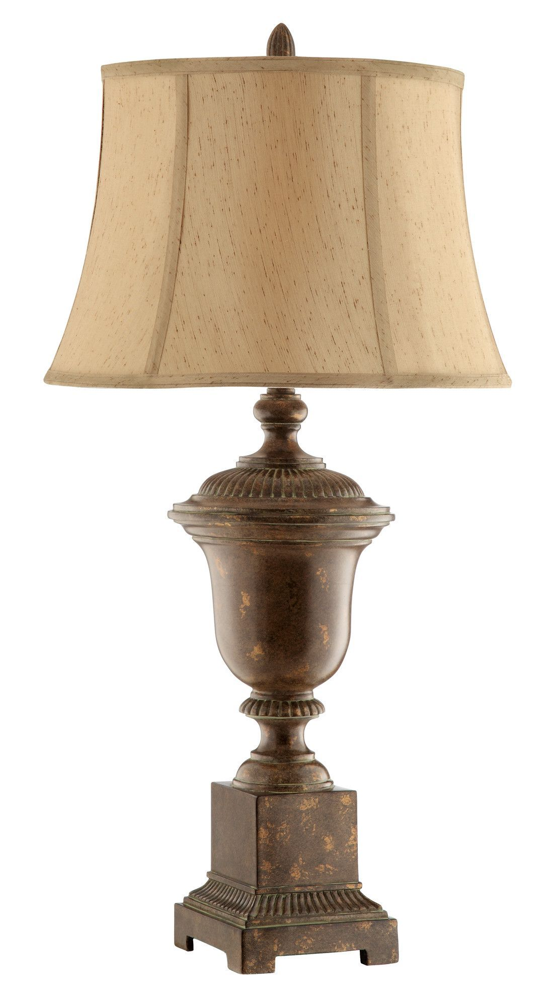 Almira Urn 34 5 H Table Lamp With Bell Shade Traditional Table Lamps Table Lamp Lamp
