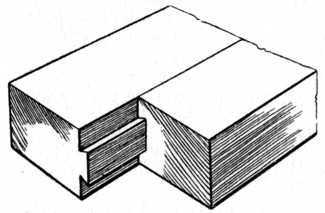 Joint With Single Dovetail Tongue And Groove This Process Of Joining Two Or More Pieces Of Wood Became Very Popular During The Craftsman Period This Specifi