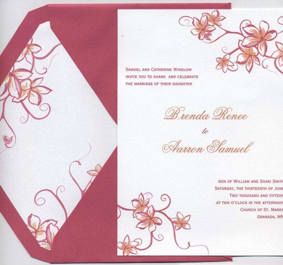 A bright and fun invitation. Wedding invitations, Fun