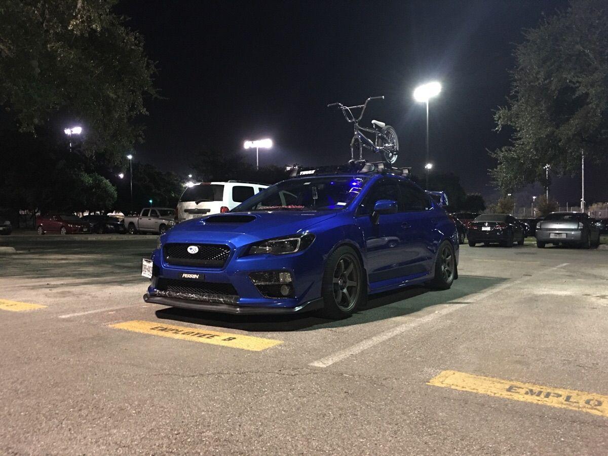 Front Lip And Roof Rack Install Made My Car Happy Subaru Wrx Sti Impreza Forester Subie Subaru Wrx Roof Rack Subaru