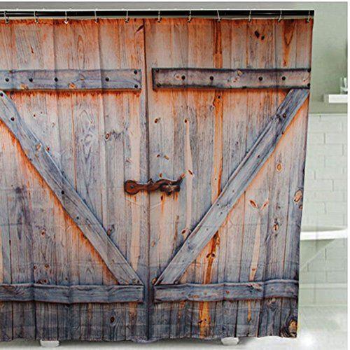 YIGER Rustic Country Barn Wood Door Digital Printing Poly... https://www.amazon.com/dp/B01L74U1HO/ref=cm_sw_r_pi_dp_x_H9lfybHJHE220