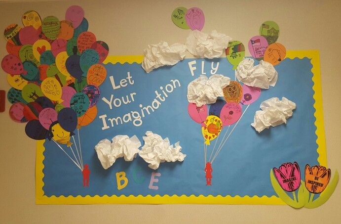 "BCE Refections Inspiration display ""Let your imagination fly"""