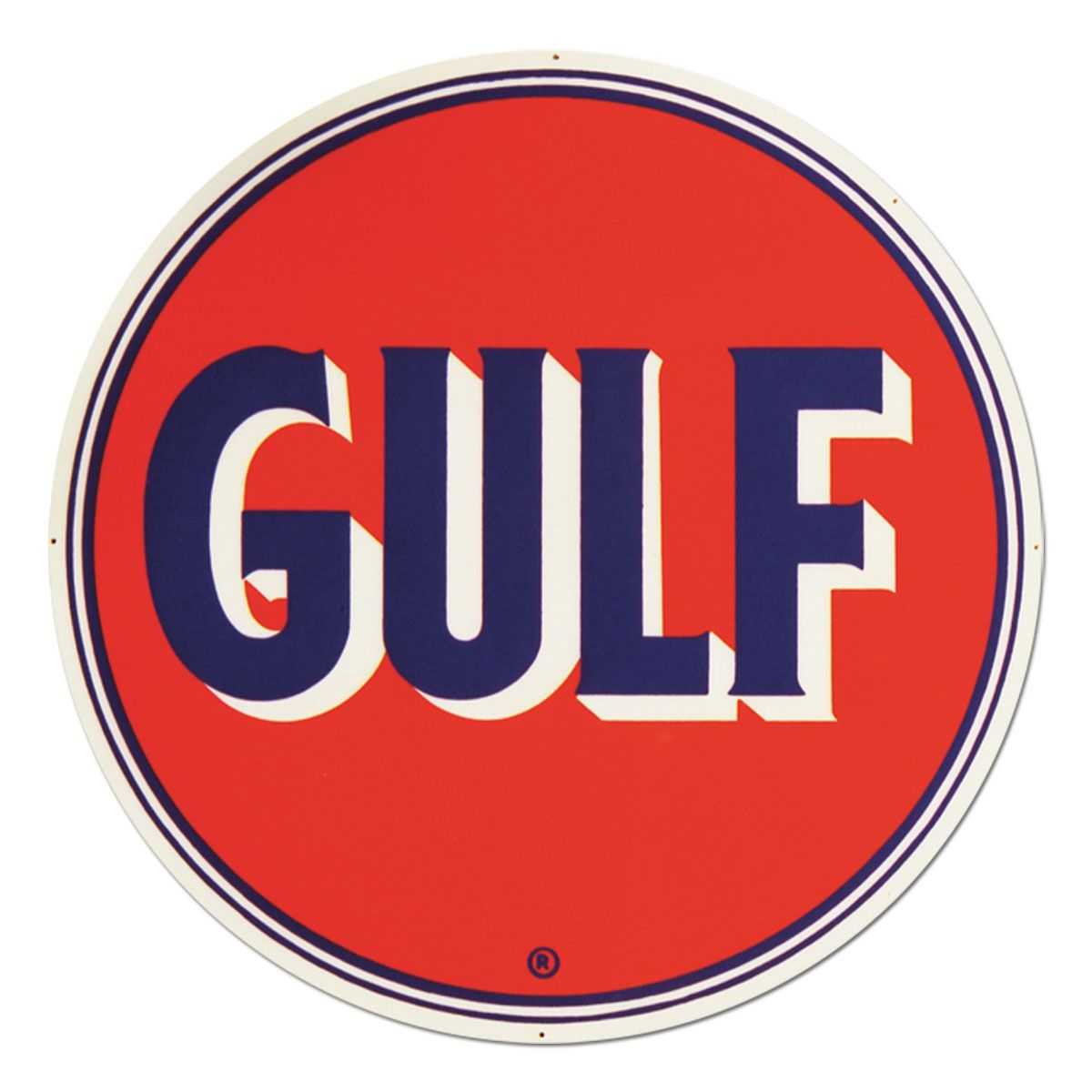 gulf oil gas station vintage steel sign garage signs and