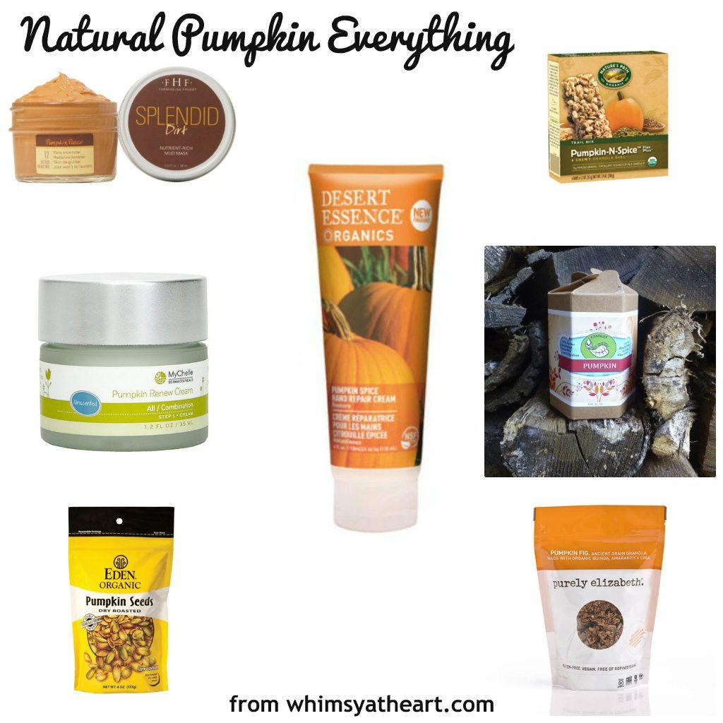 natural pumpkin everything