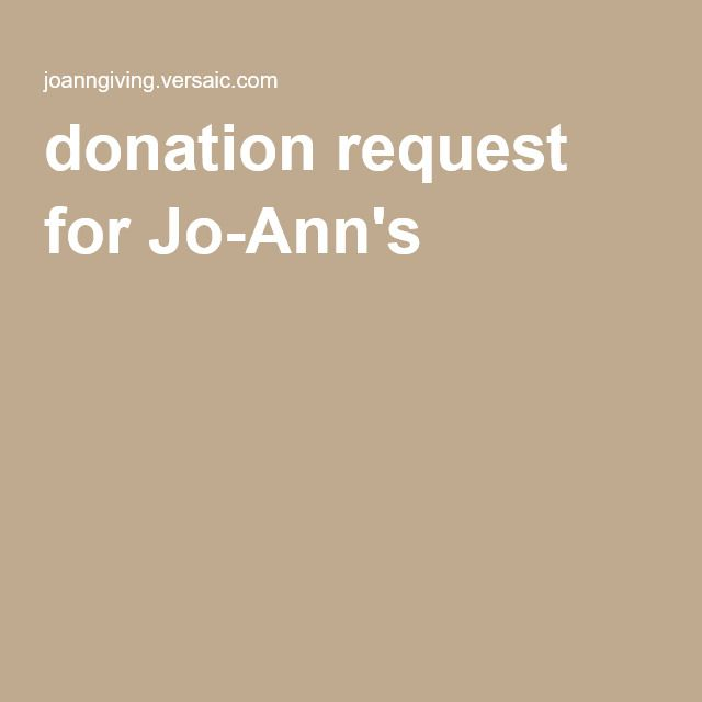 donation request for Jo-Annu0027s PTA ideas Pinterest - donation request letter