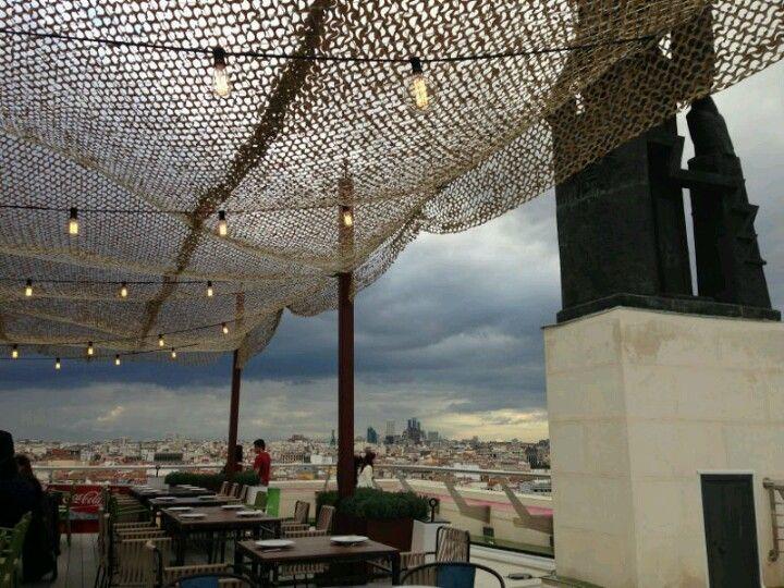 Terraza De Bellas Artes Rooftop Bar Rooftop Madrid