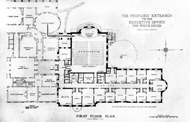 The White House Proposed Truman Expansion