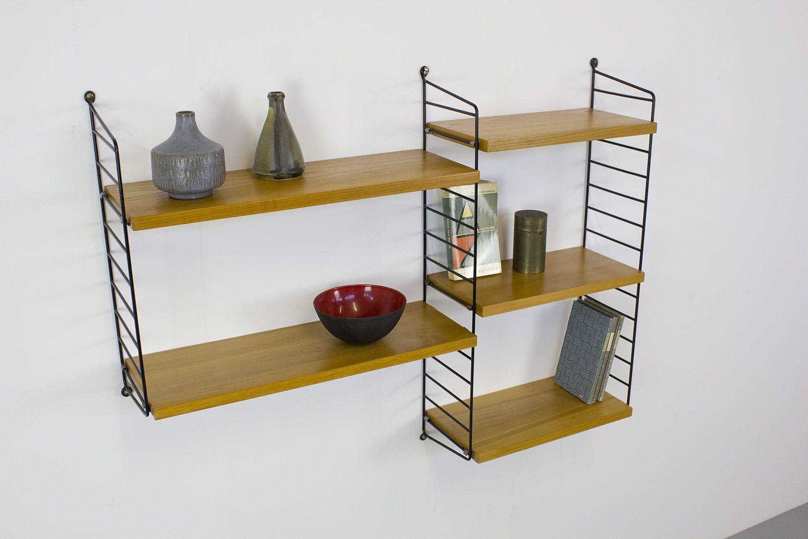 ebay string regal teak wohn design. Black Bedroom Furniture Sets. Home Design Ideas