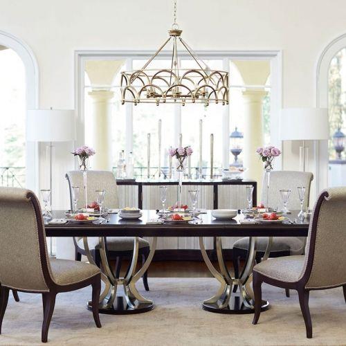 dining table top and base bernhardt randi g double pedestal rh pinterest com