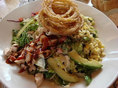 Lime Dressing Adds A Cool Zest To This Tex Mex Inspired Marinated En Dish The Copycat Cheesecake Factory Santa Fe Salad Recipe Serves Twelve
