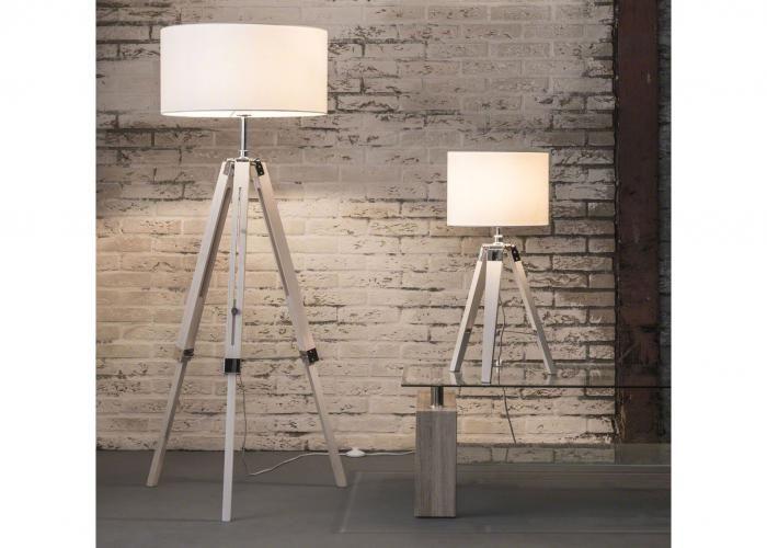 Collectie prima lux en idee staande lamp en tafellamp in
