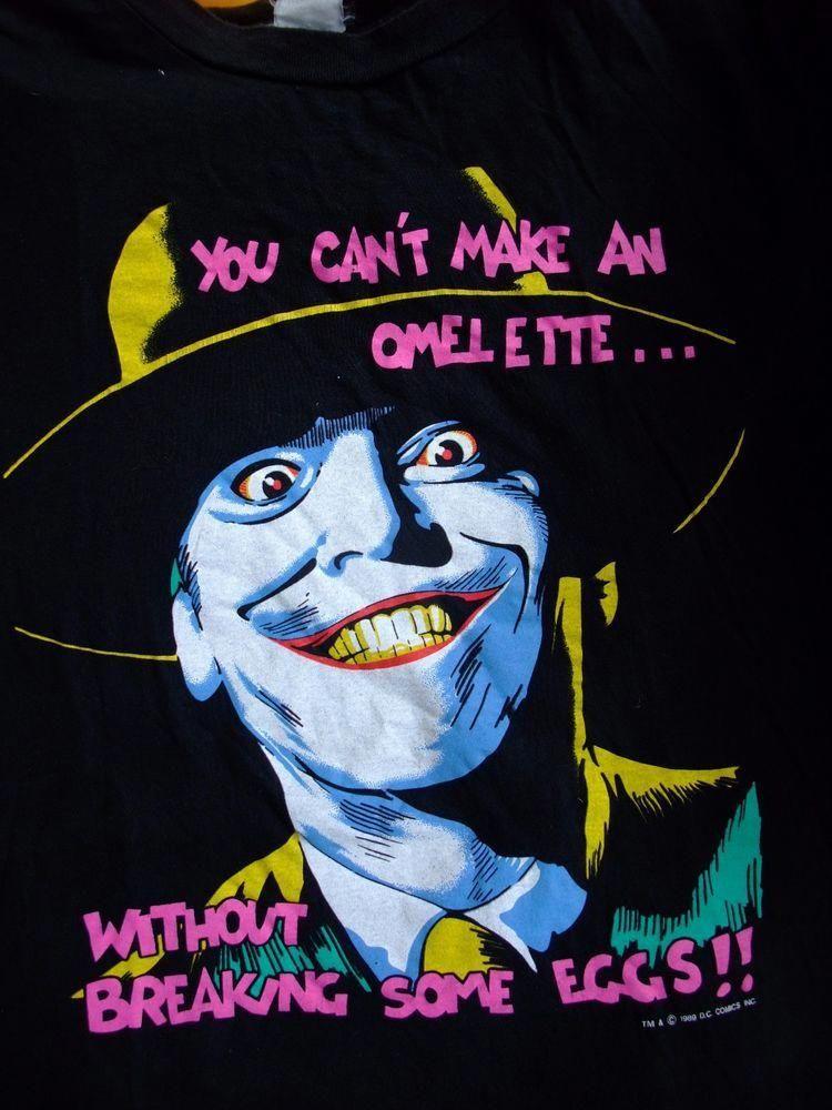 421eb052b Vintage Joker T Shirt 1989 DC Comics Inc Batman #Unbranded #GraphicTee  #Casual #