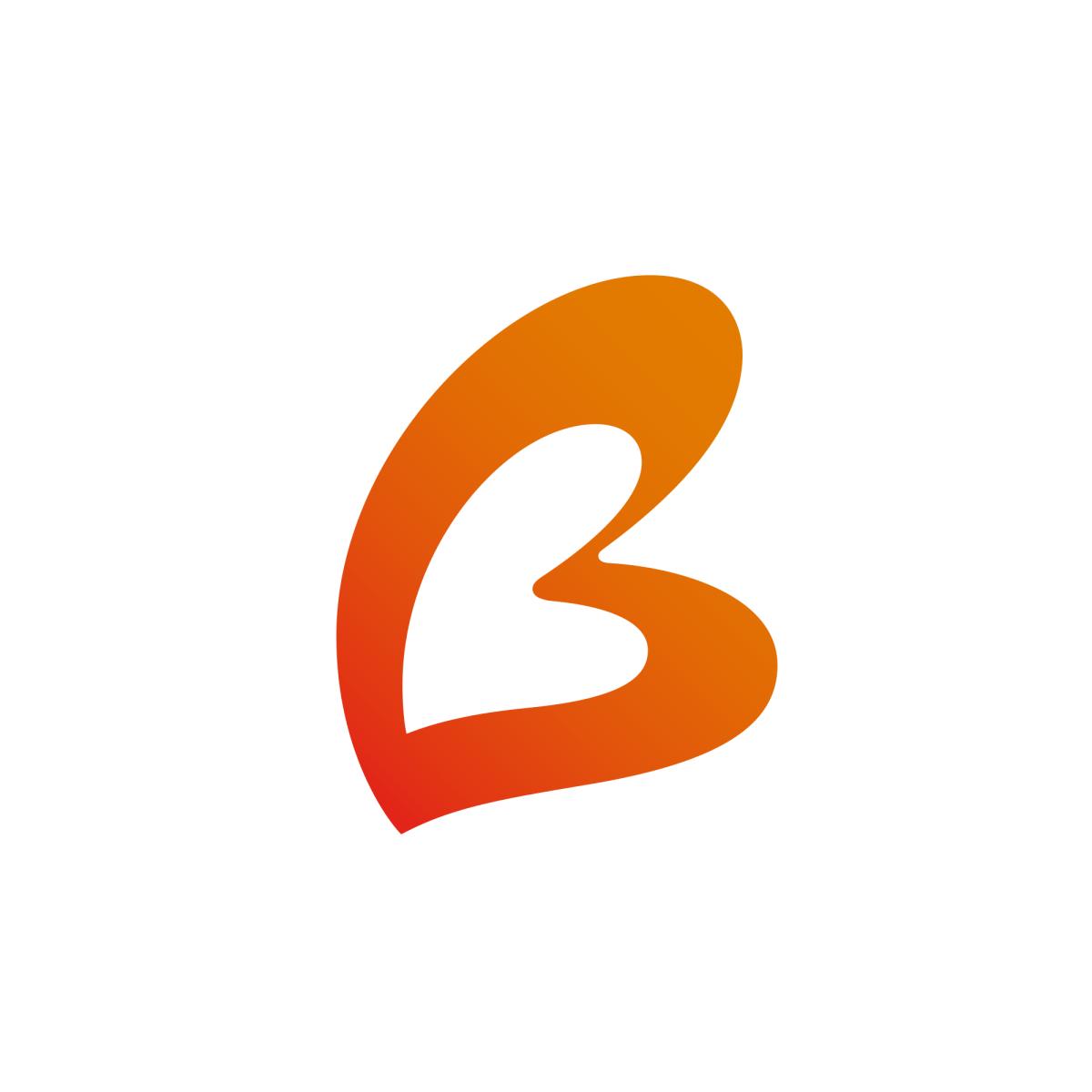 Bethpage Logo United States Letter Logo Single Letter Logo Letter B