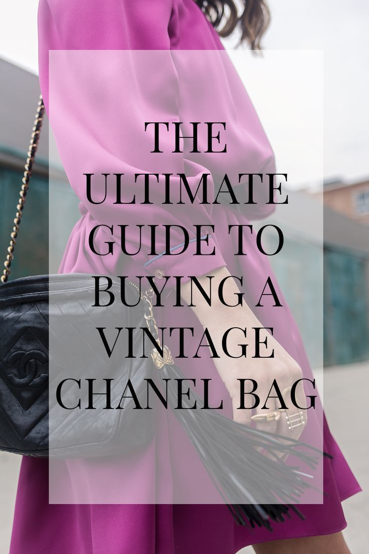 ceb968106eca Best Tips for Buying a Vintage Chanel Bag - How to Buy Vintage ...