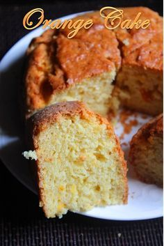 YUMMY TUMMY: Eggless Fresh Orange Cake Recipe / Orange Yogurt Cake Recipe