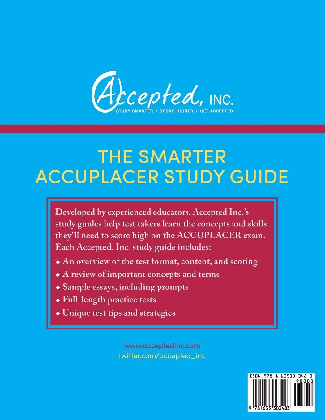 ACCUPLACER Study Guide 2019: ACCUPLACER Exam Prep Book and Practice