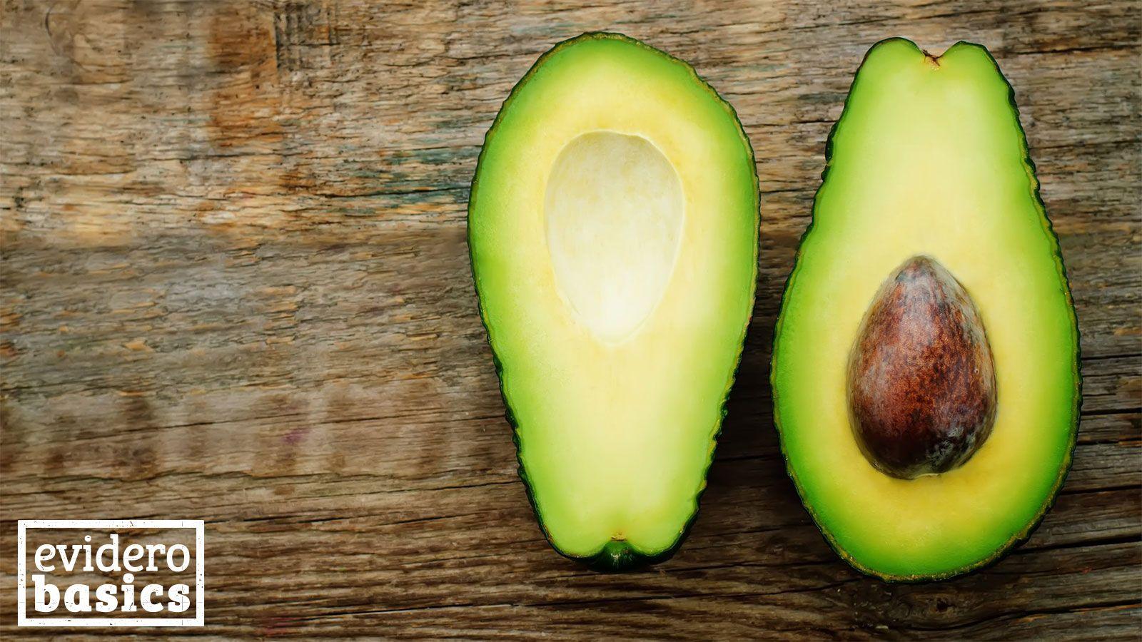 Der Kern der Avocado ist essbar und sehr gesund