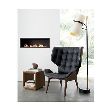 Riston Floor Lamp + Reviews   Crate and Barrel   Furniture ... on Riston Floor Lamp  id=58599