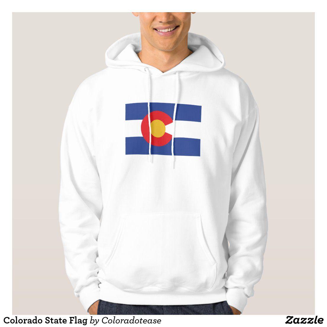 Colorado State Flag Hoodie Zazzle Com Colorado State Flag Flag Hoodie Hoodies [ 1106 x 1106 Pixel ]