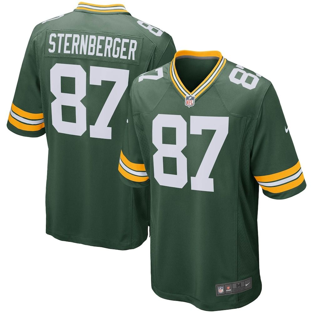 Men S Nike Jace Sternberger Green Green Bay Packers Game Jersey Size Large Pkr Green Green Bay Packers Game Green Bay Packers Jerseys Packers Games