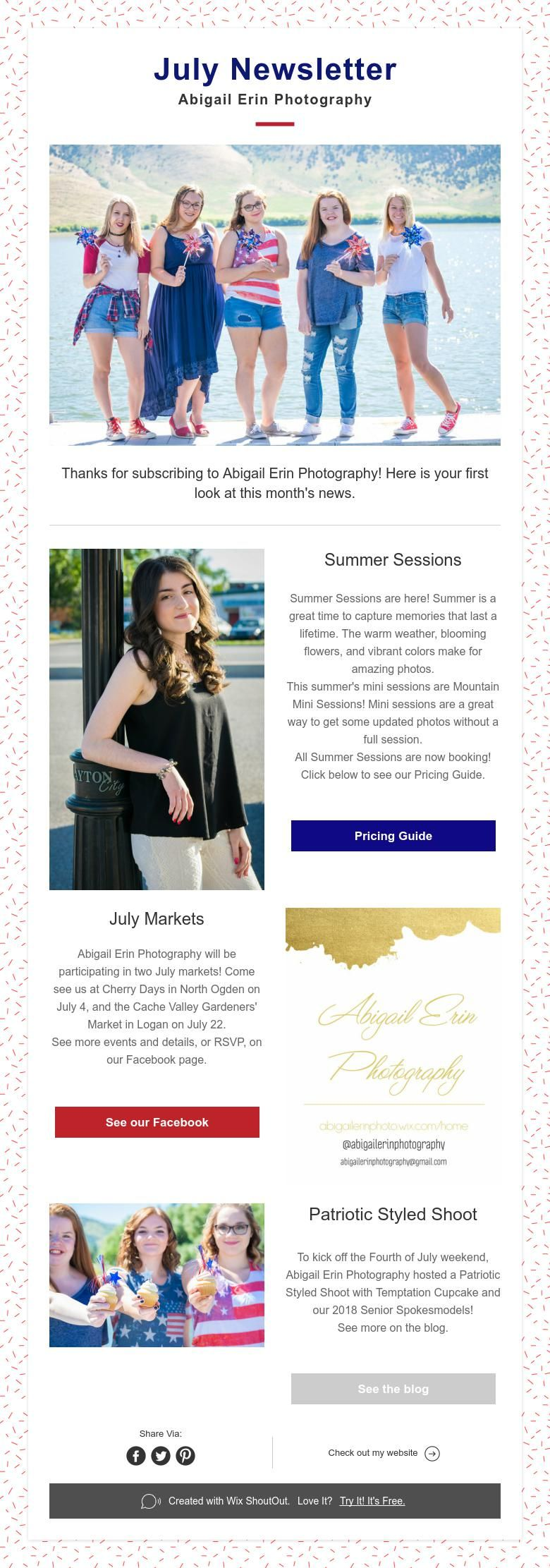 august newsletter abigail erin photography photography