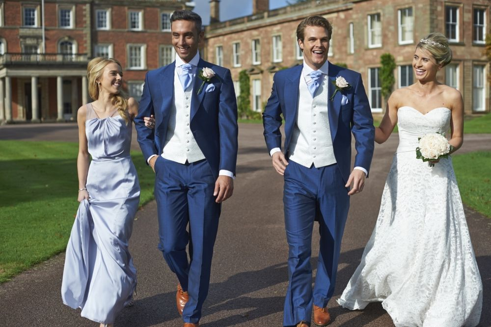 The Very Dapper Looking Lydbury Royal Blue Tailcoat Suit