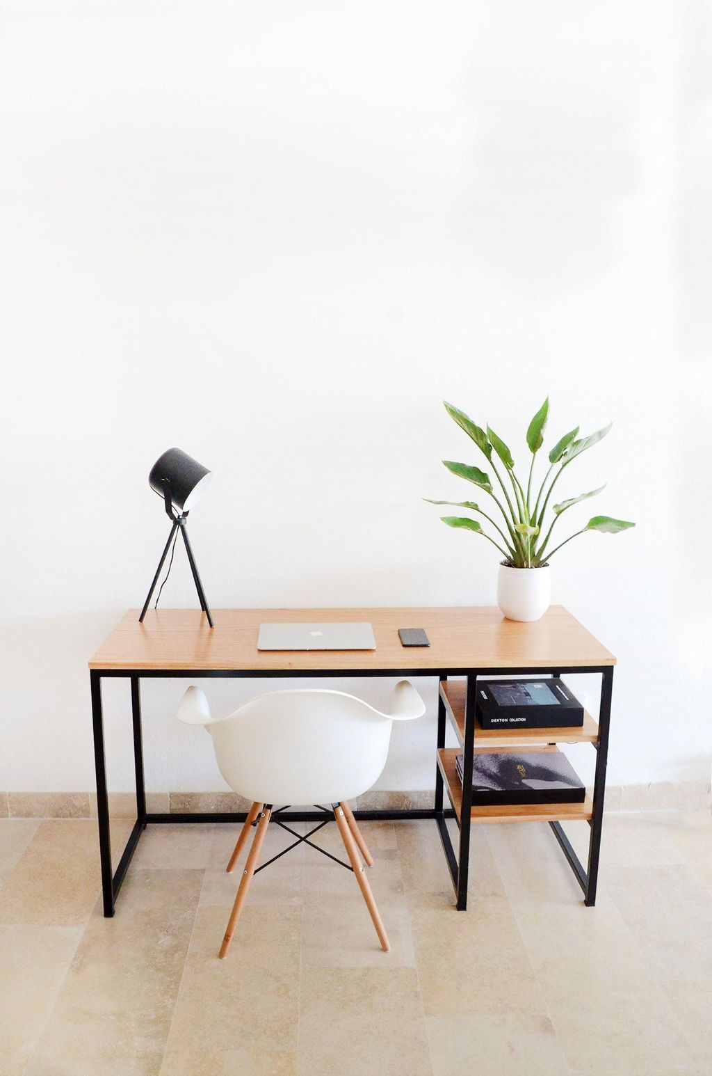 46 Impressive Diy Home Office Table Ideas For Create Comfortable Work In 2020 Home Office Table Home Office Furniture Industrial Home Design
