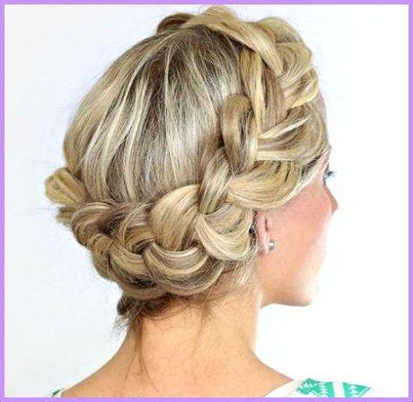 peinados elegantes en cabello corto para salir a una fiesta