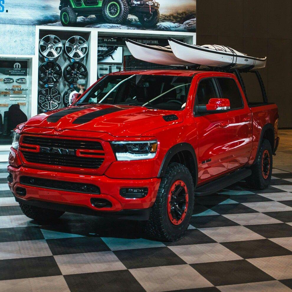 2019 Dodge Ram 1500 By Mopar Off Road Vehicles Pinterest Power Wagon Crew Cab Pickup
