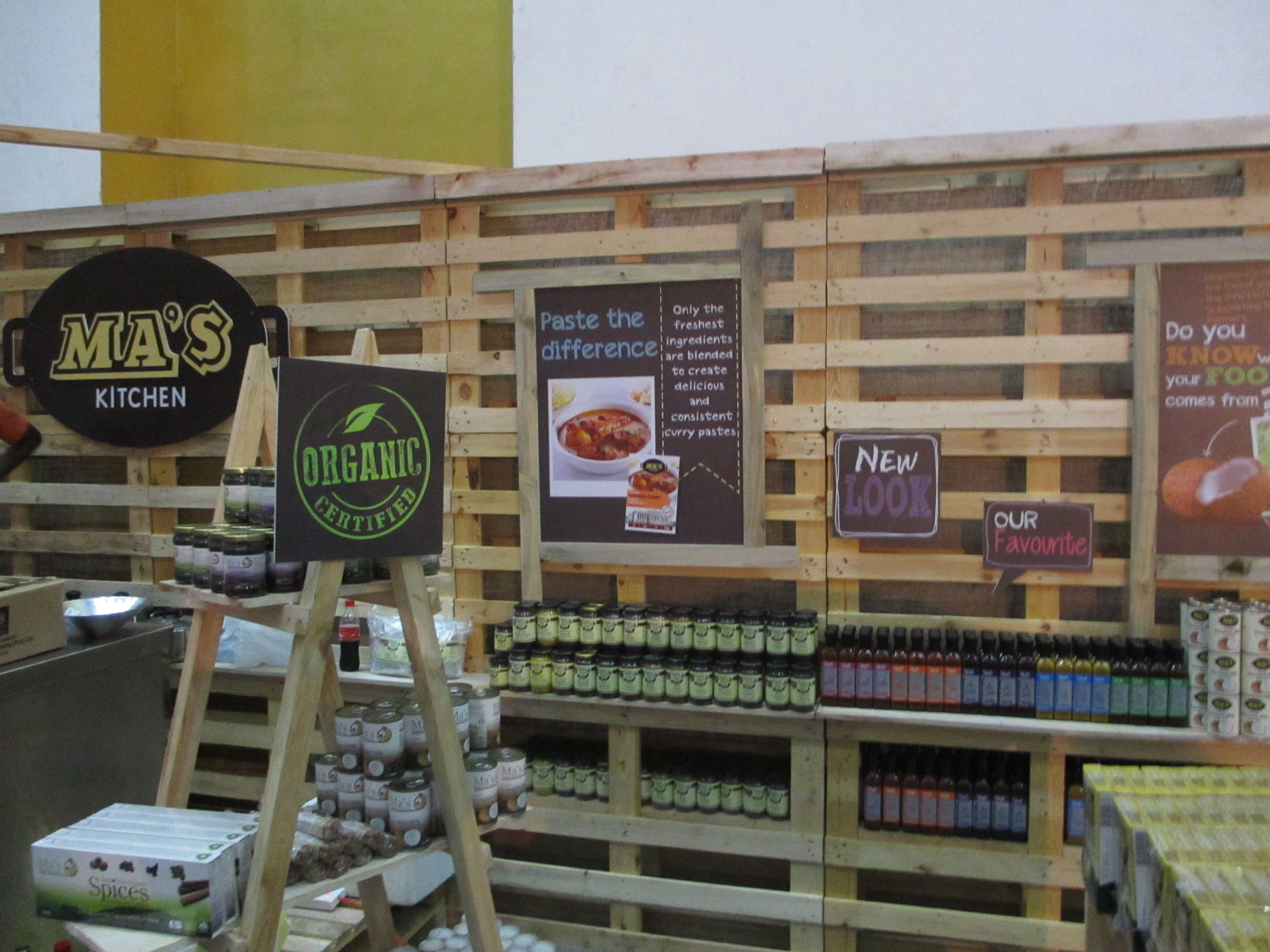 Exhibition Stall Builders In Sri Lanka : Pallet exhibition stall booth shelves ma s kitchen