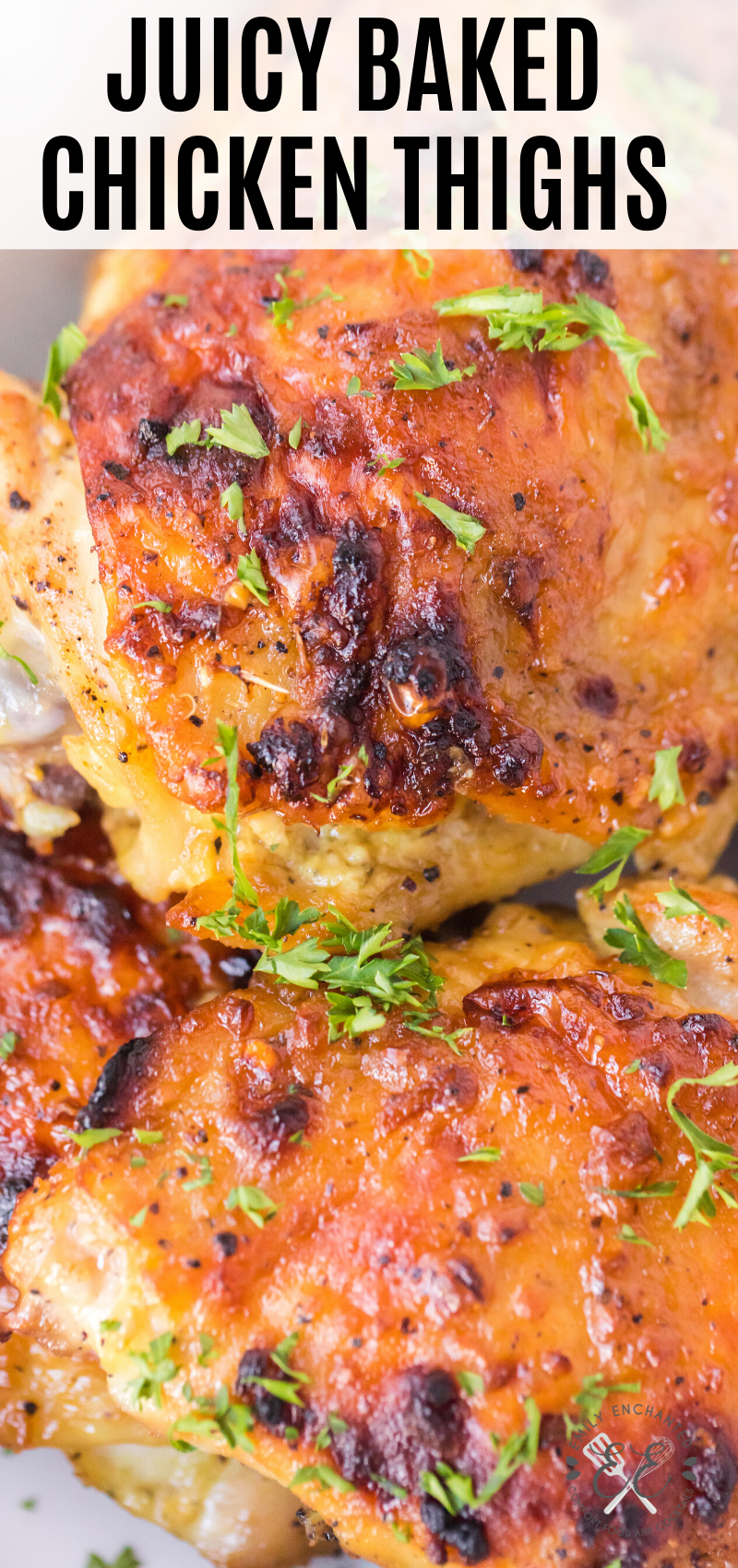 Oven Baked Chicken Thighs Recipe Chicken Thigh Recipes Baked Oven Baked Chicken Thighs Chicken Thigh Fillet Recipes