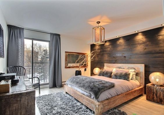 Beau 42 Inspiring Modern Rustic Bedroom For Your Home   Coffee Milk