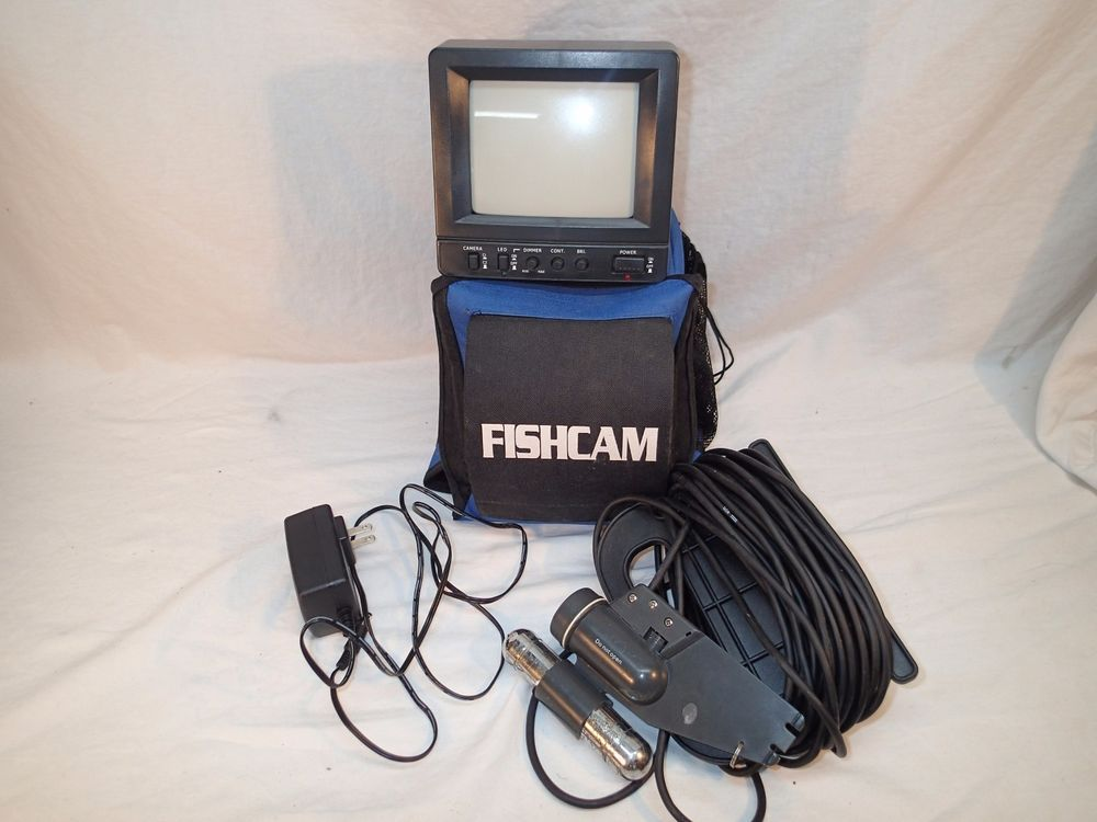 Fishcam Underwater Video Camera System w/ black/white monitor ...