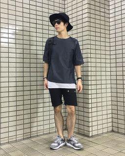 Y's Wardrobe: 【en route UNIQLO NEW BALANCE】お盆だ!帰省だ!ドタバタだ!!〜レイヤード...