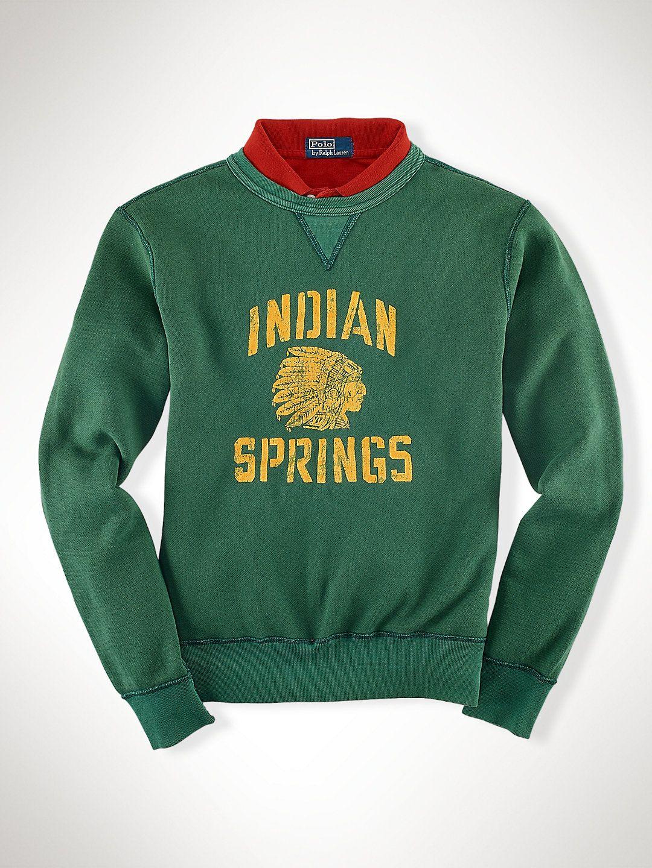 Indian Springs Crewneck Sweatshirts Sweatshirts T Shirts