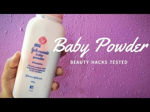 9 Awesome Beauty Hacks With BABY Powder TESTED | Aarushi Jain