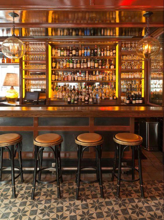 Bar Interior Lighting Design of The Gage Restaurant, Chicago | Winery |  Pinterest | Interior lighting design, Bar interior and Interior lighting